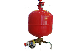 Suspension heptafluoropropane device (electromagnetic)