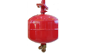 Hanging heptafluoropropane device