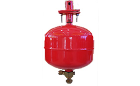 Hanging heptafluoropropane device (temperature control)